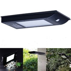 5W Solar Power 35 LED PIR Motion Sensor Street Light Waterproof Outdoor Securitity Wall Lamp