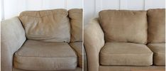 Fixing furniture: Restore squashed sofa pillows..