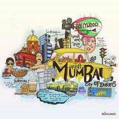 Music Drawings, Cool Art Drawings, Art Sketches, Graffiti Doodles, Graffiti Wall Art, Indian Illustration, Graphic Illustration, Illustrations, India Poster