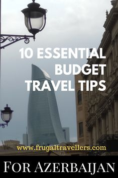 10 essential budget travel tips for Azerbaijan - Frugal Travellers. Travel Azerbaijan on a budget. The best way to explore Azerbaijan and how to see the country on a shoestring. Cheap Travel, Budget Travel, Travel Guides, Travel Tips, Travel Advice, Azerbaijan Travel, Asia Travel, Wanderlust Travel, Travel Goals