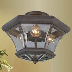 Livex Lighting Fairfield 3 Light Semi Flush Mount