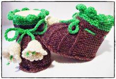 Babyschuhe - Babyschühchen von Maschenlädchen auf DaWanda.com