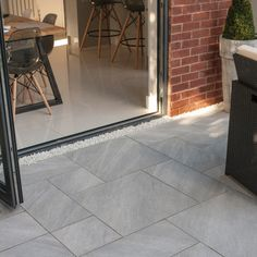 Bradstone, Aspero Porcelain Paving Silver Grey Patio Pack - Per Pack - Porcelain - patio Garden Slabs, Garden Tiles, Patio Slabs, Patio Tiles, Garden Paving, Patio Flooring, Concrete Patio, Bradstone Paving, Paving Stone Patio