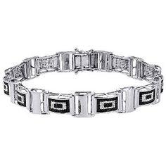 #Jewelry #MensStyle #MensBracelets Mens Diamond Bracelet