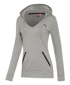 b363d84f4831 Take a look at this Athletic Gray Heather Holiday Hoodie by PUMA on today!