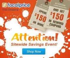 Wirehead Mobility Blog: Focalprice Pre-Black Friday Sale, up to 72% off + Free Shipping Nov,25-Nov 30