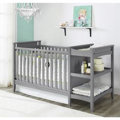 Baby Relax Emma Crib And Changing Table Combo