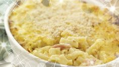 SuperValu | Baked Macaroni with Ham & Cheese |