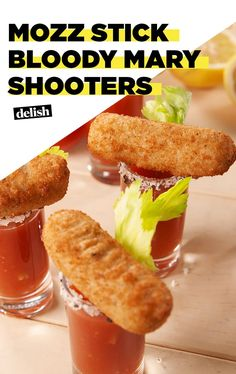 These Mozz Stick Bloody Mary Shooters Are Surprisingly AddictiveDelish