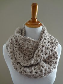 Fiber Flux...Adventures in Stitching: Free Crochet Pattern...Pavement Infinity Scarf!