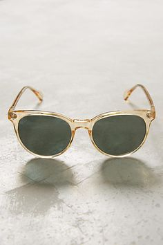 Anthropologie Raen Champagne Norie Sunglasses