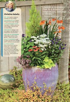 Outdoor flower pot arrangements potted plant - Better homes and gardens flower pots ...