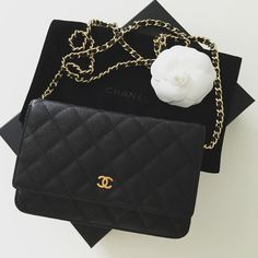 Still my favorite and easiest cross body bag - Chanel WOC.  chanel   chanellover 74bf5a5321