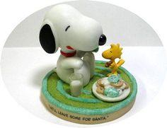 Hallmark Figurine: Cookies for Santa- Adorable!