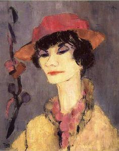 Georgette Tavé portrait de Coco Chanel