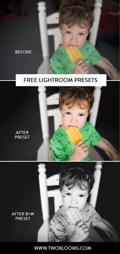 Save time editing in Lightroom with these 3 FREE Lightroom presets from Two Blooms Lightroom Presets. Click to download yours now!