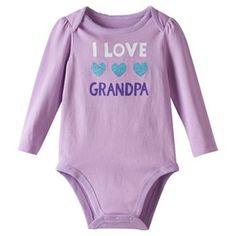 """Jumping Beans® """"I Love My..."""" Family Bodysuit - Baby Girl"""