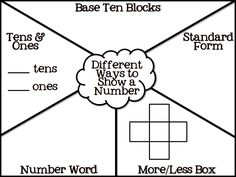 Representing Numbers in Different Ways - Place Value Freebies.pdf