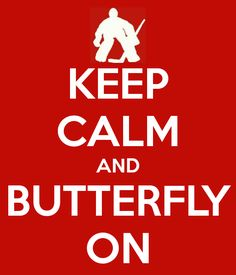 For the goalies