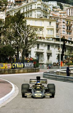 Ronnie Peterson, Lotus-Ford 72E, 1975 Monaco GP, Monte Carlo
