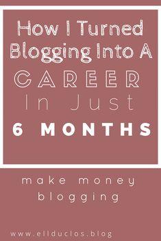 achieve blogging success - make money blogging