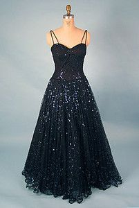 Don Loper Ball Gown, 1950- Wonder if Lucy got her ring stuck in THIS one!!!