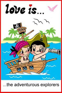love is… adventurous--- Happy Columbus Day