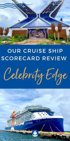Celebrity Edge Cruise Ship Scorecard Review (2021) - Find out what it is like on the first Celebrity Cruises voyage from the U.S. with our Celebrity Edge cruise ship scorecard review! Cruise Checklist, Cruise Tips, Cruise Vacation, Cruise Excursions, Cruise Destinations, Cruise Ship Reviews, Adventure Of The Seas, Celebrity Cruises, Rooftop Garden