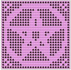 This pattern is a filet charted doily that can be used in several ways,  including a doily, wall hanging, altar cloth, curtain or  decorat...