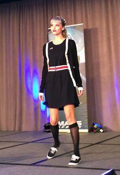 BioWare Fashion show: Mass Effect - N7 cardigan & skater dress #geekfashion