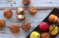 Pear Cardamom Muffins