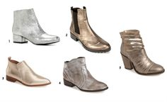 Seven (wearable) 2015 Fall Trends - Metallic boots and more #wearable #refashion #metallicboots #trendalert