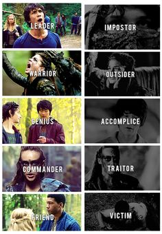 What they were, What they have become. Part 1 #The100