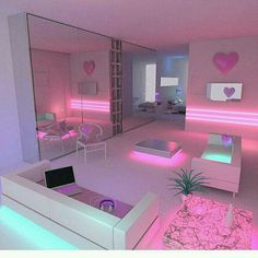 Tired of it the same 20 approximate DIY ideas for the teenage room decoration Zimmer deko ideen Easy Diy Room Decor, Cute Room Decor, Diy Room Decor For Girls, Room Decor With Lights, Girls Bedroom Decorating, Teenage Room Decor, Girl Decor, Decorating Blogs, Awesome Bedrooms
