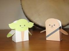 fun and easy paper craft for kids ~ arts and crafts to do Cute Kids Crafts, Easy Arts And Crafts, Paper Crafts For Kids, Crafts To Do, Preschool Crafts, Fall Art Projects, School Art Projects, Star Wars Birthday, Star Wars Party