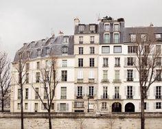 Quai d'Orleans, Paris  Photo, The Paris Print Shop