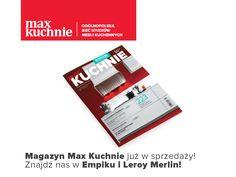 Magazyn Max Kuchnie od dzisiaj w sprzedaży! Wiele ciekawych tematów i inspiracji to idealna lektura na święta.