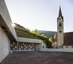 Albes Cemetery Extension - Picture gallery