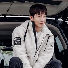 Nam Joohyuk, Joo Hyuk, Athletic, Actors, Cute, Jackets, Instagram, Fashion, Cute Boys