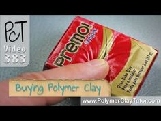 Buying Polymer Clay Tips by Cindy Lietz the Polymer Clay Tutor