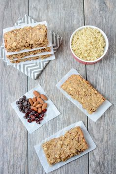 Packed with protein and healthy fats, these Quinoa Breakfast Bars are easy to prep ahead of time and make the perfect grab and go breakfast on a busy morning.