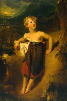 Thomas Lawrence (1769 – 1830, English) Lady Georgiana Fane 1806