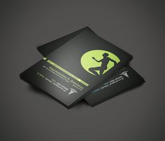 Physiotherapist Business Card on Behance