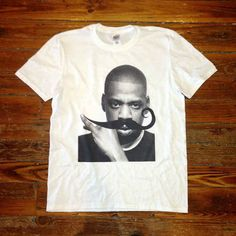 This mustached Jay-Z print. | 32 Important Pieces Of Hip-Hop Paraphernalia You Can Buy On Etsy