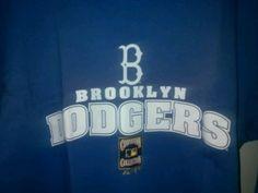 Brooklyn Dodgers Majestic MLB,Cooperstown Men's T-Shirt. Adult 2XL. #Majestic #BrooklynDodgers