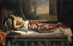The Death of Cleopatra Stretched Canvas Print / Canvas Art for sale. Shop your favorite German von Bohn The Death of Cleopatra Stretched Canvas Print / Canvas Art without breaking your banks. Vanitas, Kandinsky, Jules Cheret, Egypt Museum, Romantic Themes, Oil On Canvas, Canvas Prints, Canvas Art, Egyptian Queen