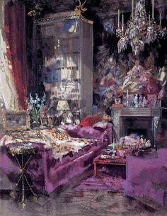 Elsa Schiaparelli's home by Jeremiah Goodman