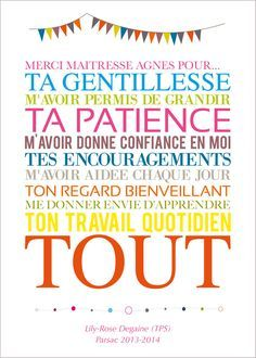 "Citation Pour Remerciement D'anniversaire Best Of Image Of Affiche ""merci Maîtresse"" … Teachers Day Gifts, Gifts For Bookworms, Diy Cadeau Maitresse, Personalized Teacher Gifts, Employee Gifts, Teacher Appreciation Week, Gifts For My Boyfriend, End Of Year, School Gifts"