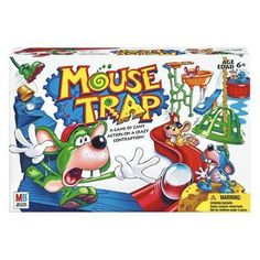 Mouse Trap Board Game, the famous game that kids loved but didn't actually play! This game was more fun to put together