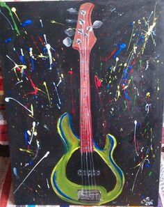 It's all about that bass :) K.Slysz, acrylics on canvas